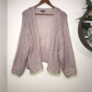 Wild fable light brown cardigan size S